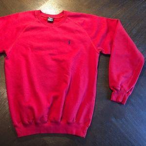 Polo by Ralph Lauren Crewneck Red Sweatshirt